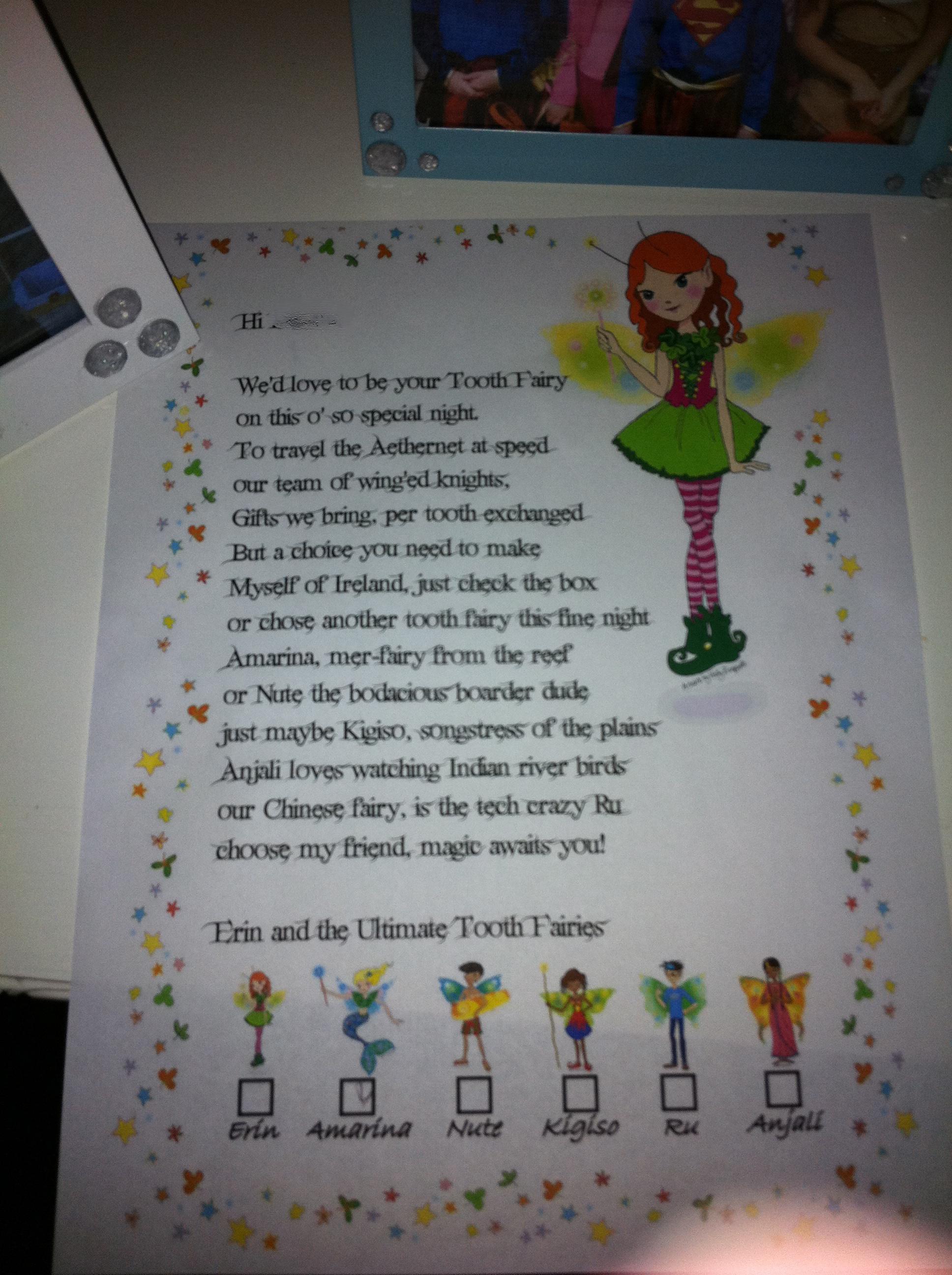 Tooth Fairy Gift Ideas For Boys